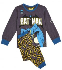 Dark Grey Batman Pyjamas