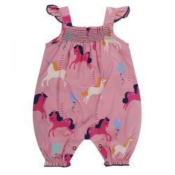 Lilly & Sid Carousel Print Romper