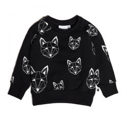 Tobias & the Bear Black Fox Sweat