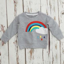 Blade & Rose Rainbow Sweatshirt