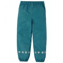 Frugi Steely Blue Rain Trousers