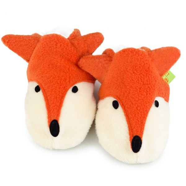 Funky Feet Fox Slippers