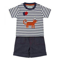 Lilly & Sid Tiger Short Set