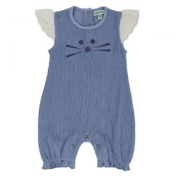 Lilly & Sid Character Face Romper