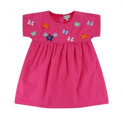 Lilly & Sid Butterfly Emb Dress
