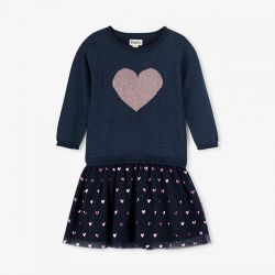 Hatley Glitter Heart Dress