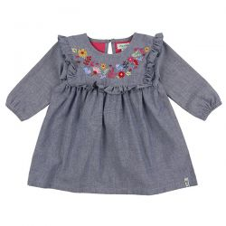 Lilly & Sid Chambray LS Dress