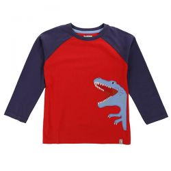 Lilly & Sid Dino Baseball Top