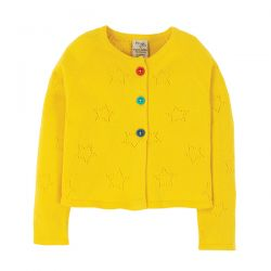 Frugi Carrie Sunflower Cardigan