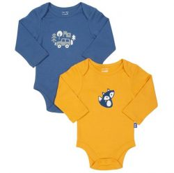 Kite Fox 2 Pack Bodysuit