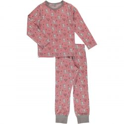 Maxomorra Sweet Bunny Pyjamas