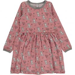 Maxomorra Sweet Bunny Spin Dress