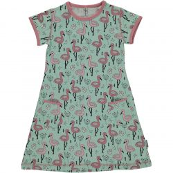 Maxomorra Flamingo Dress