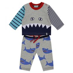 Lilly & Sid Shark Jogger Set