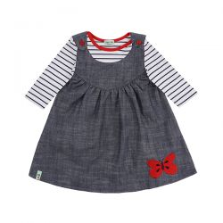 Lilly & Sid Chambray Reversible Set