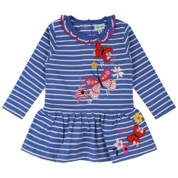 Lilly & Sid Butterfly Stripe Dress