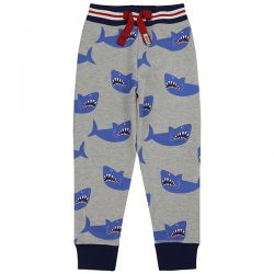 Lilly & Sid Shark Print Joggers