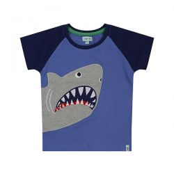 Lilly & Sid Shark Applique Top