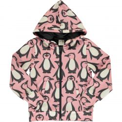 Maxomorra Penguin Zip Up Hoody