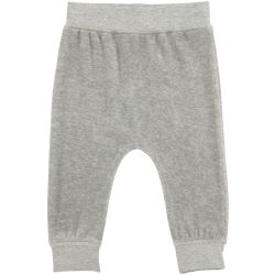 Molo Susse Grey Velour Trousers
