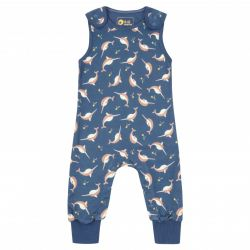 Piccalilly Narwhals Dungaree