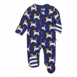 Piccalilly Hello Tiger Sleepsuit