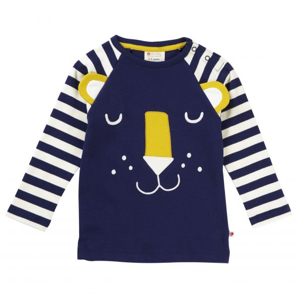 Piccalilly Hello Tiger Raglan Top