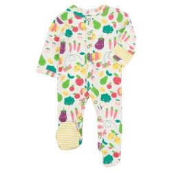 Piccalilly Grow Sleepsuit