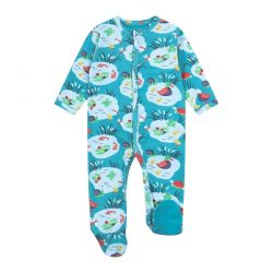 Piccalilly Pondlife Sleepsuit