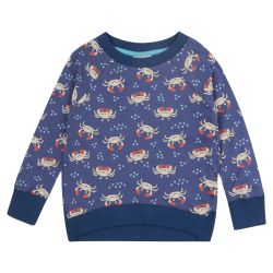 Piccalilly Ocean Crab Sweatshirt