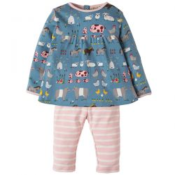Frugi Sally Hay Days Dress Set