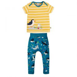 Frugi Puffin Olly Outfit