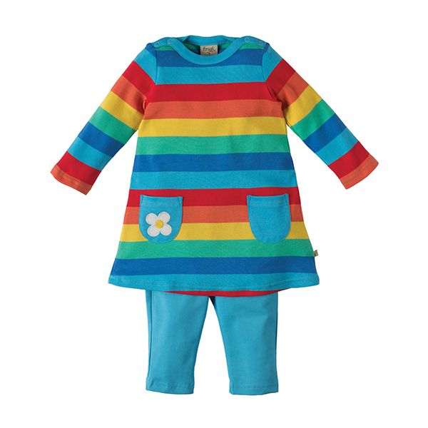 Frugi Rainbow Tunic Set