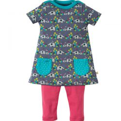 Frugi Elly Savanna Tunic Set