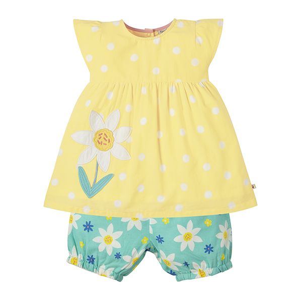 Frugi Daffodil Woven Outfit