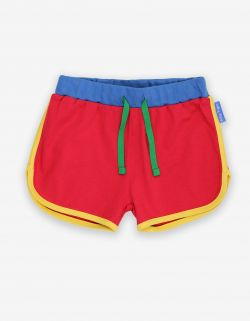 Toby Tiger Red Running Shorts