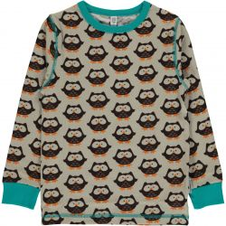 Maxomorra Owl LS Top