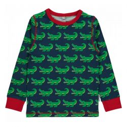 Maxomorra Crocodile LS Top
