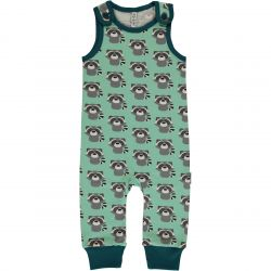 Maxomorra Raccoon Playsuit