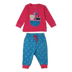 Frugi Owl and Cat Pjs
