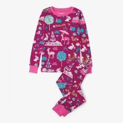 Hatley Woodland Tea Party PJs