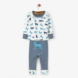 Hatley Pup Play Mini PJs