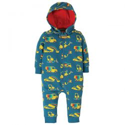 Frugi Dig a Rainbow Snugglesuit
