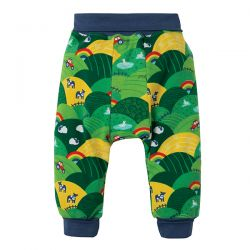 Frugi Rainbow Fields Parsnip Pants