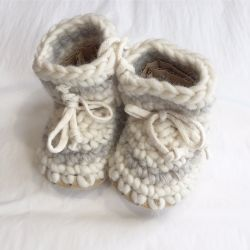 Padraig Cottage Cream Stripe Slippers