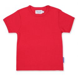 Toby Tiger Organic Red T-Shirt