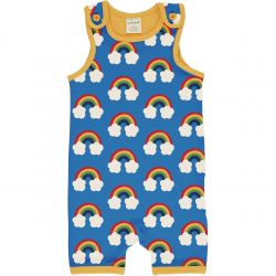 Maxomorra Rainbow Short Playsuit