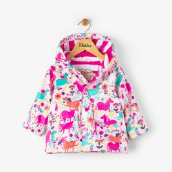 Hatley Roaming Horses Baby Raincoat