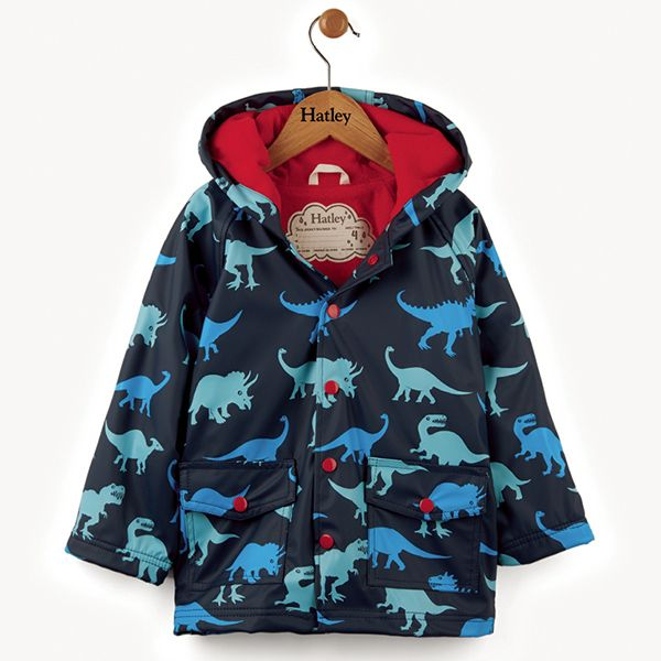 Hatley Dino Shadow Raincoat