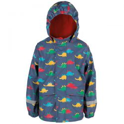 Frugi Dino Trek Puddle Coat